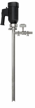 Sanitary Flow Meter & Pump System Electric