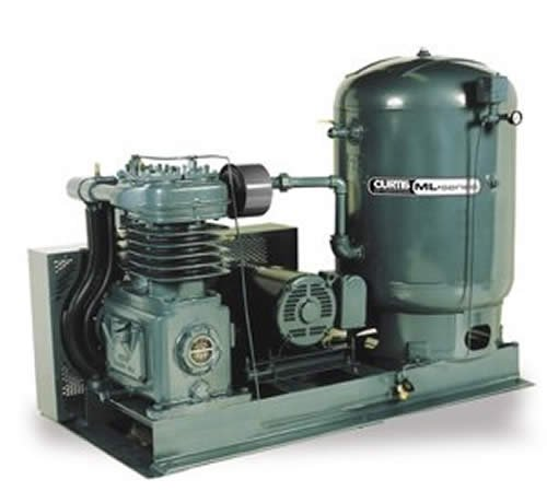 Base Mounted Electric Air Compressor