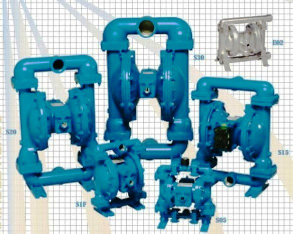 Sandpiper Standard Duty Metallic Ball Pump
