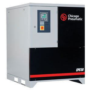 Chicago Pneumatic – CPC/CPD 40 – 100 HP Belt Drive Rotary Screw Air Compressors