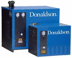 High Inlet Temperature Refrigerated Compressed Air Dryer
